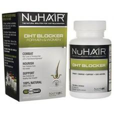 Препарат для роста волос Nuhair Dht Blocker 60 таблеток