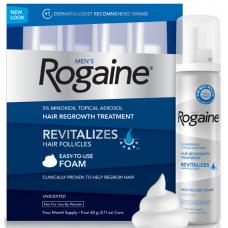 Регейн 5% (Rogaine) Пена (3 флакона)