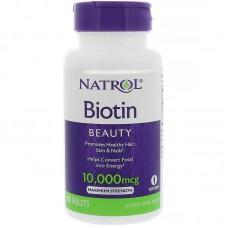 Биотин Natrol 10000 мг