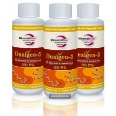 Dualgen-5 без пропиленгликоля (3 флакона)